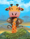 Giraffe by Oats-Art