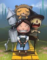 Wizard of Oz by Oats-Art