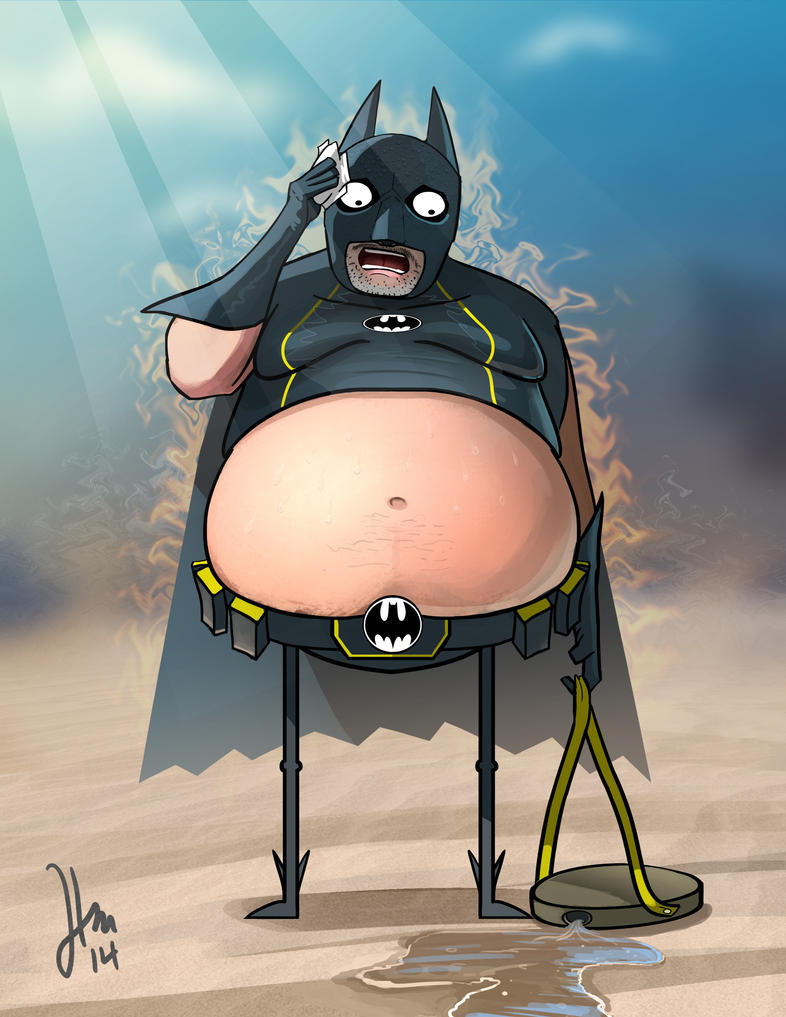 Fatman in the Desert by Spartan0627