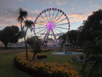 Torquay Ferris Wheel by astateofconfusion