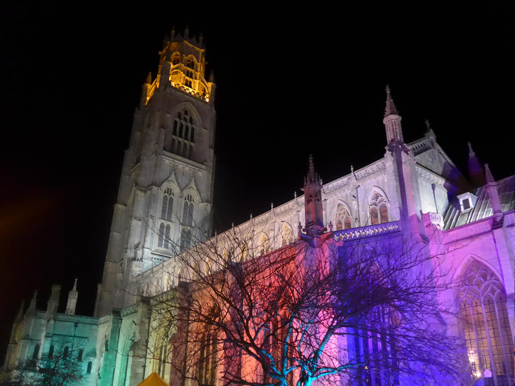 Boston Stump Illuminated by astateofconfusion