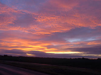 Lincolnshire Sunrise (January 2018) by astateofconfusion
