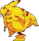 Pikachu Sumo by ChriSX698