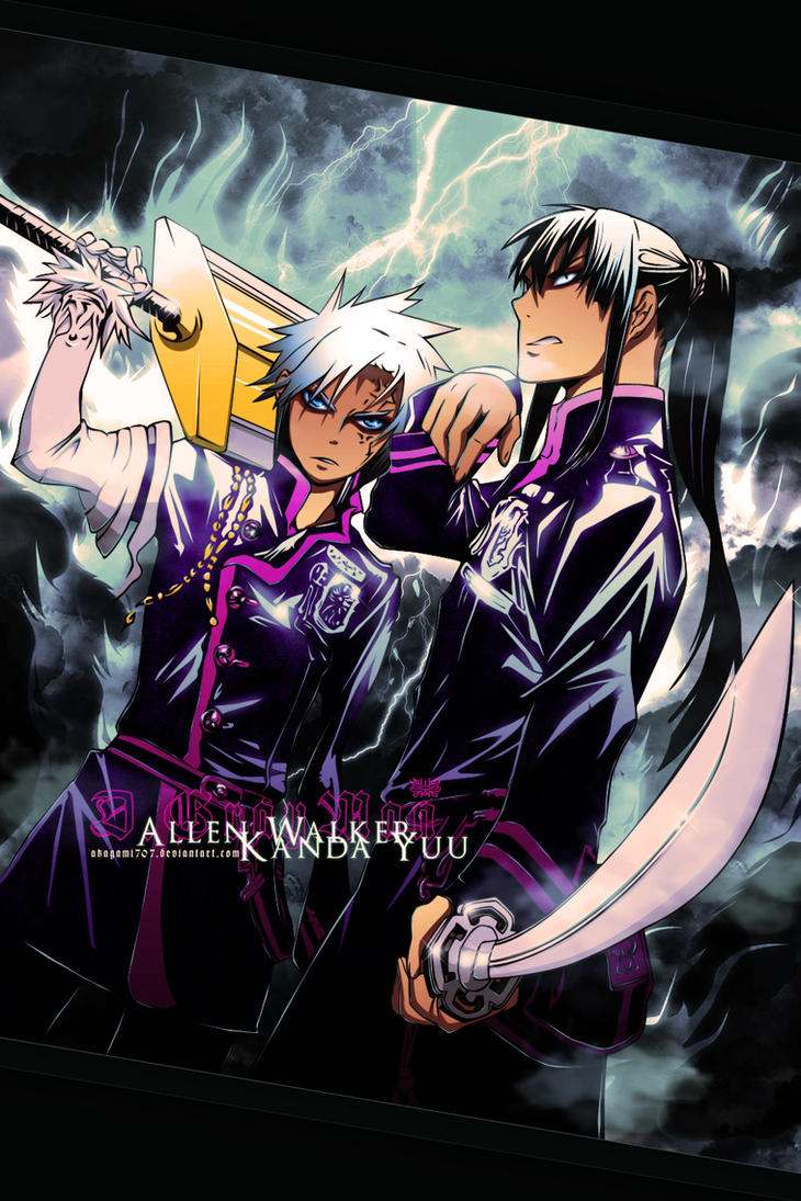 Allen + Kanda by Akagami707