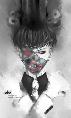 Urie Kuki - Ghoul Mask