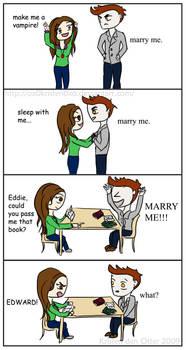 Twilight Edward Bella marry me