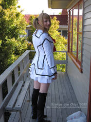 Rima Touya Cosplay - Back