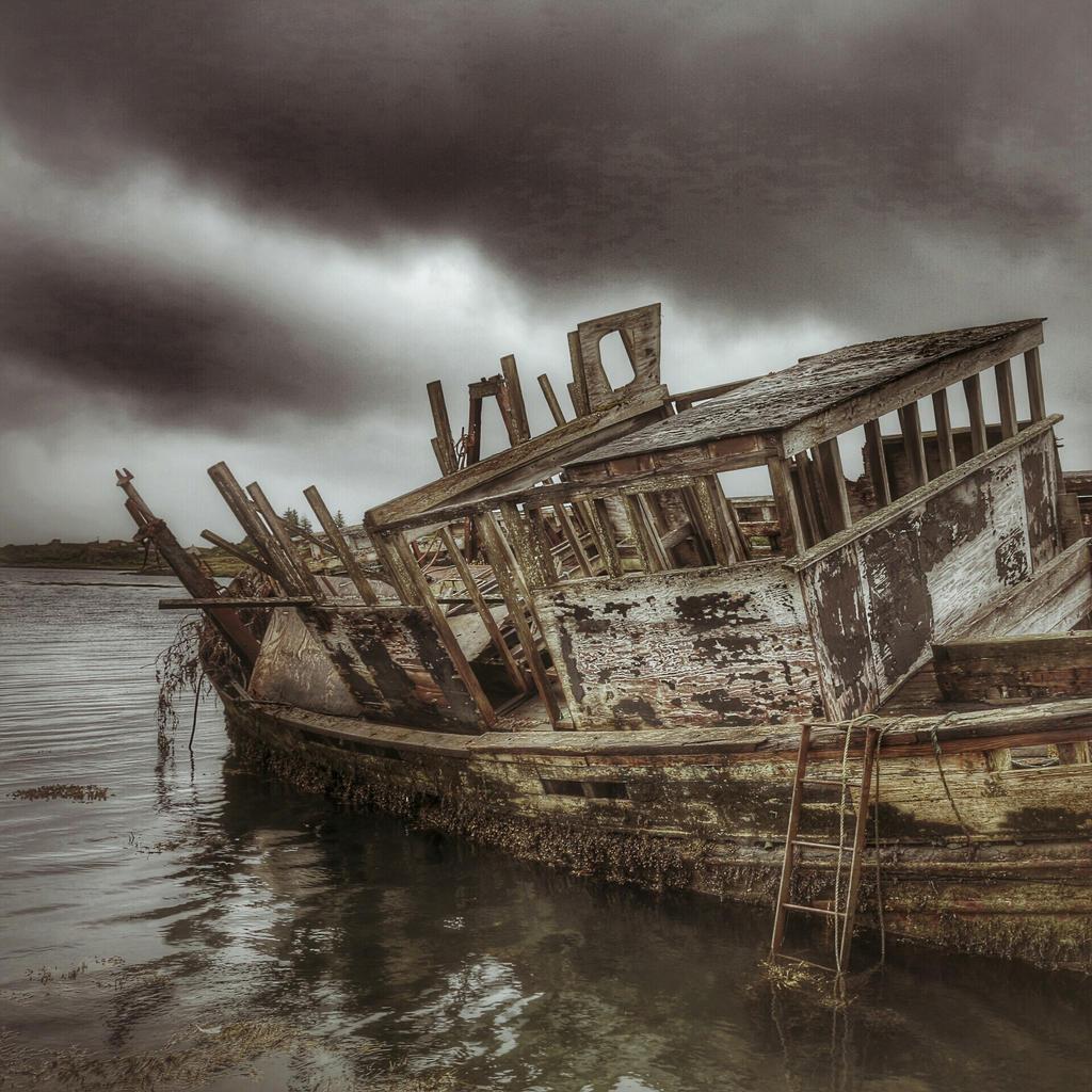Image result for dead boat