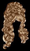 Romantic hair 1 Brown