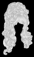 Romatic Hair White 1