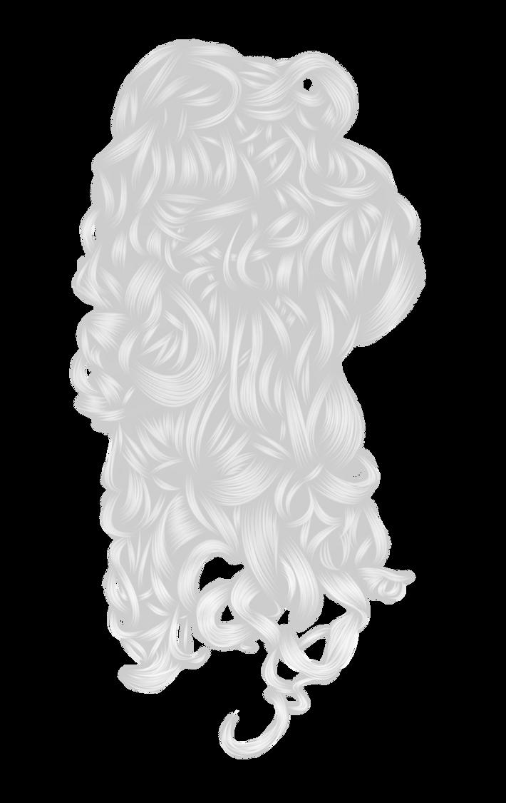 Romantic Hair 3 White by hellonlegs