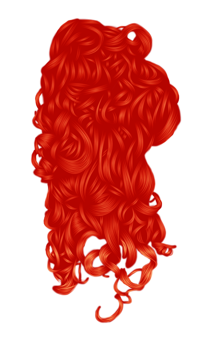 Romantic Hair 3 Red by hellonlegs