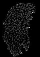 Tight Curls Black by hellonlegs