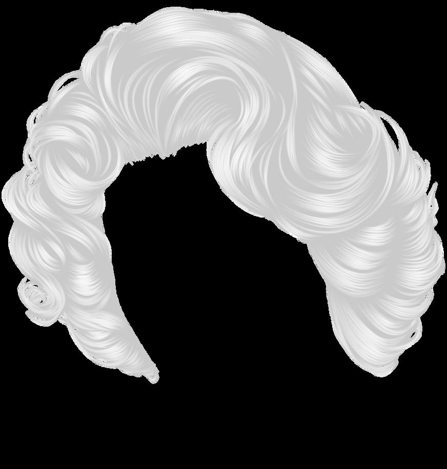 Short White Curls by hellonlegs