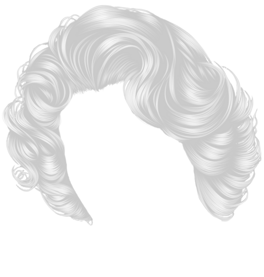 Short White Curls by hellonlegs