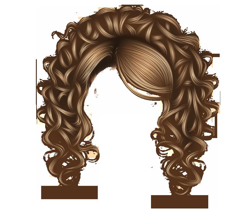 Pretty Curls Brown by hellonlegs