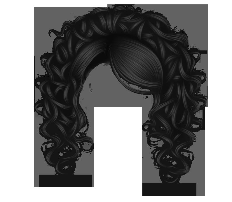 Pretty Curls Black