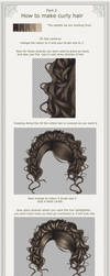 How to make curly hair part 2 by hellonlegs