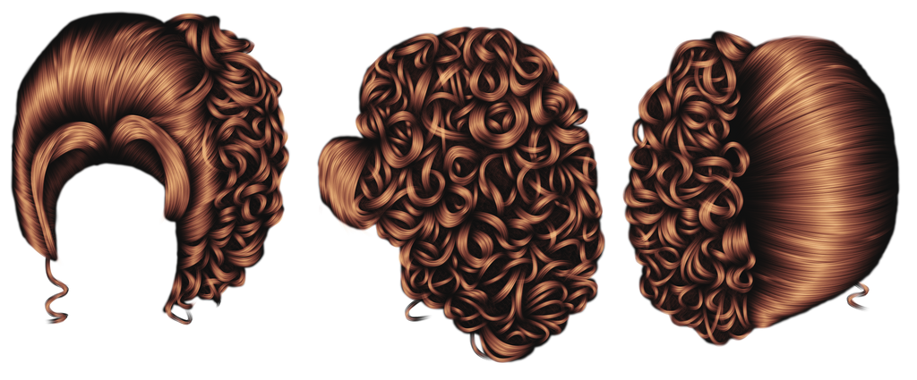 Big Hair Set 4 by hellonlegs