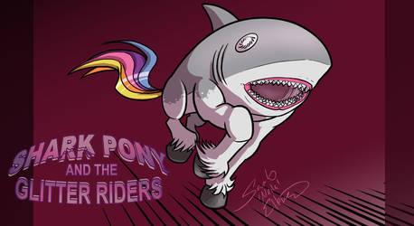 Sharkpony running Wallpaper by neilak20