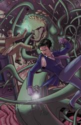Herald: Lovecraft and Tesla Fanart by neilak20