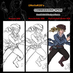 2019 Commissions Open