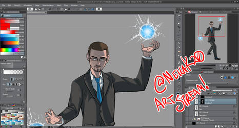 Friday Art Steams at 3pm central by neilak20