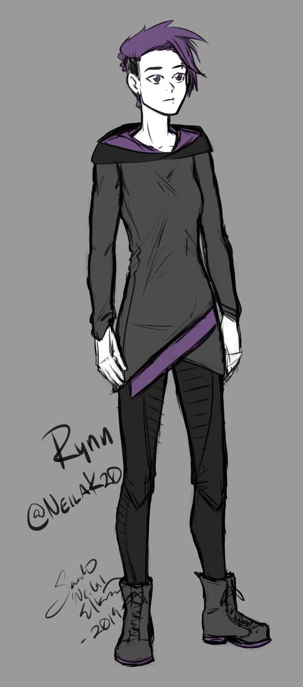 Rynn Character Design 1