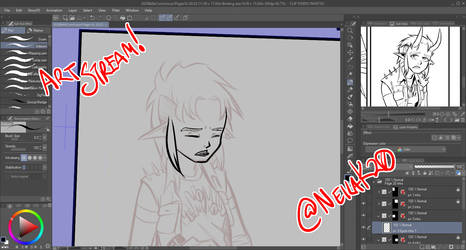 Art Stream Tomorrow, Wed Mar 17th at 3pm central