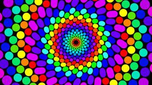3-D Psychedelic Wallpaper 3