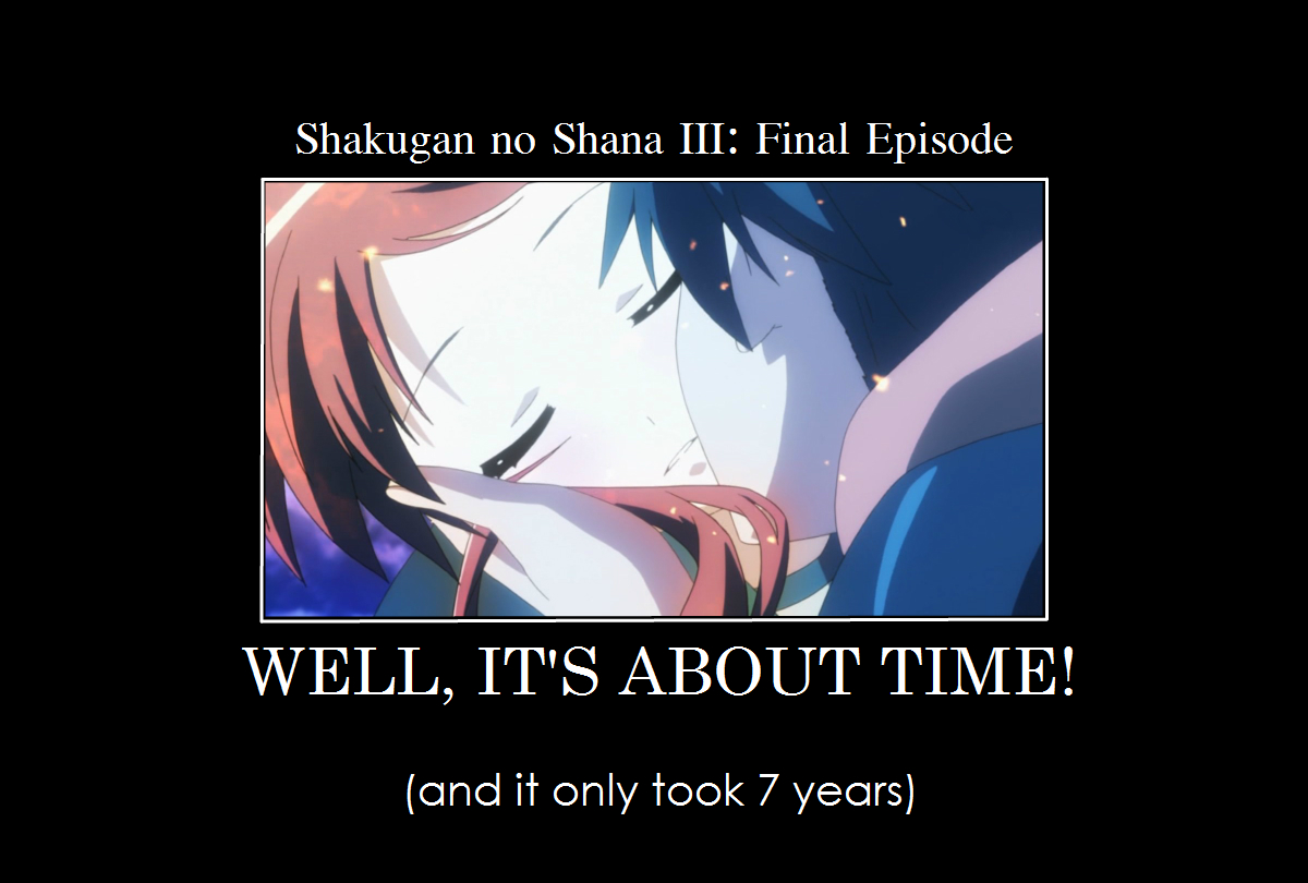 shakugan no shana kiss
