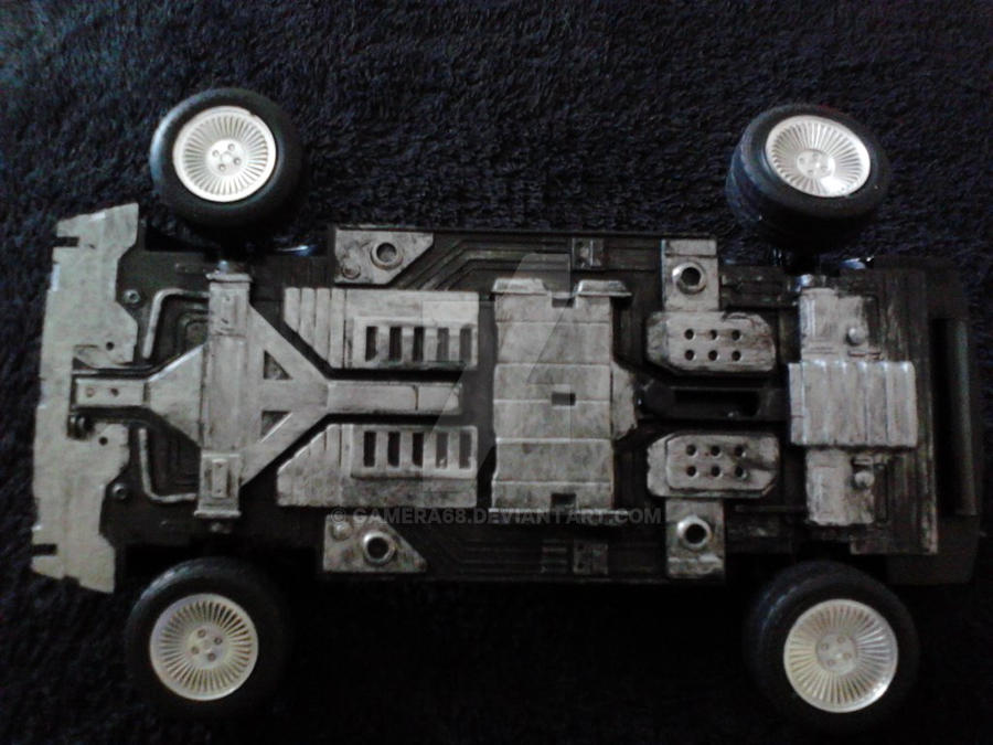 back to the future time machine model kit