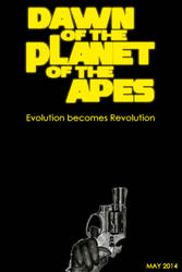 Rise Of The Planet Of The Apes 2 teaser poster by gamera68
