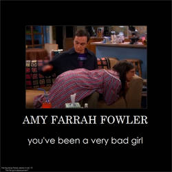 The Big bang Theory: Amy's been a VERY bad girl by gamera68
