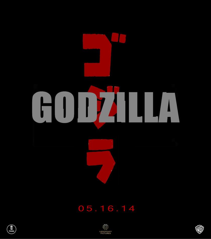 Legendary Godzilla 'Retro' Teaser Poster by gamera68