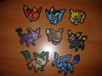 Mini Eeveelution in Perler