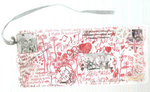 Beatles Vandalized Envelope by Invierno1505