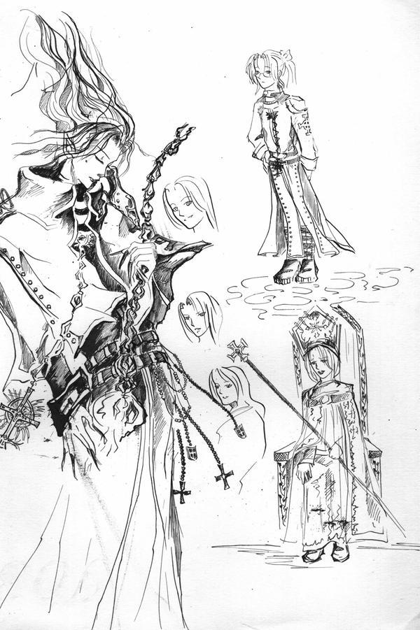 Crusnik 02 Sketch by Reya-Dawnbringer