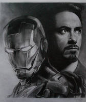 Iron Man by kevsanArt
