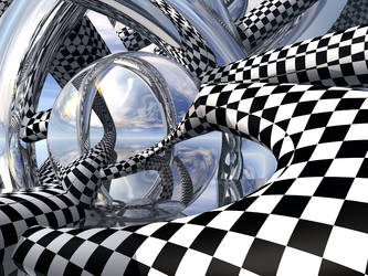 Checkered Mirror by JavaPanda