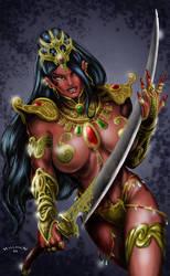 Dejah Thoris by HillmanArts