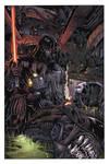 Vader vs aliens