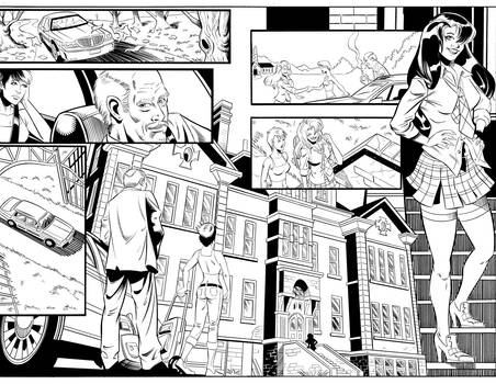 St Fran. inks pg 2 and 3