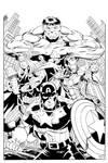 Avengers inked
