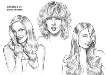 faces and hair by HillmanArts