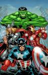 Avengers color