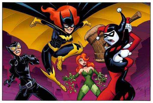 Batgirl Animated