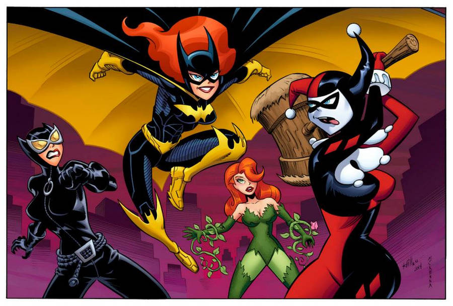 Batgirl Animated by HillmanArts