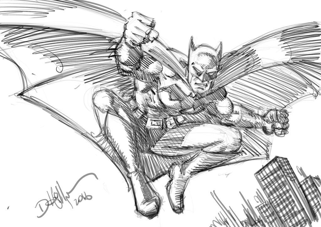 Bat doodle by HillmanArts