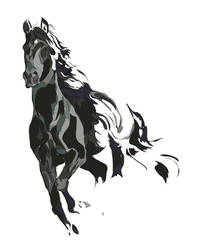 Horse by BlueKungFu